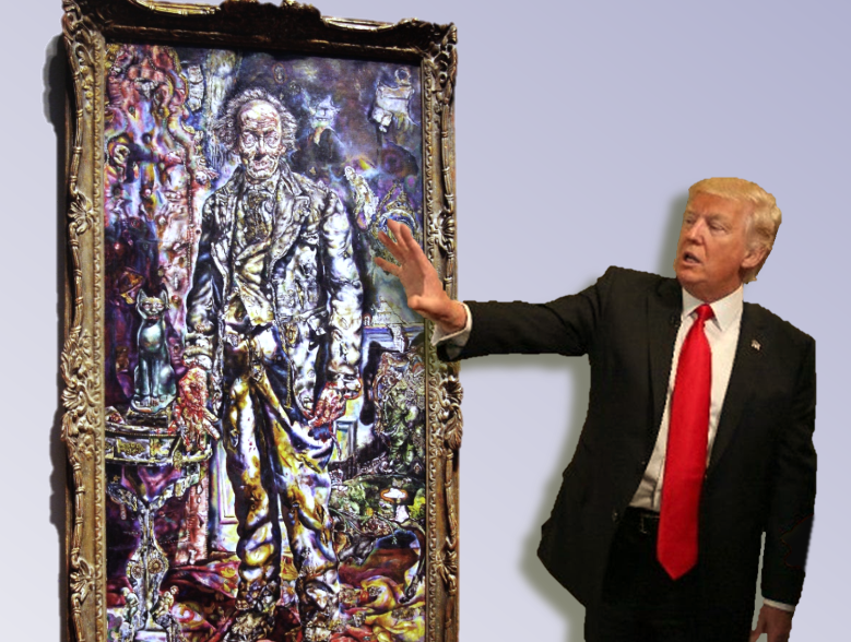 Portrait of Dorian Trump